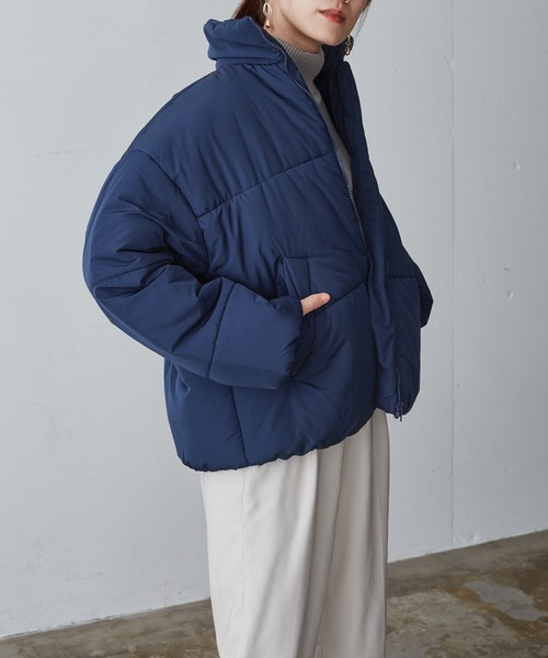 ショート丈/ボリュームカラーエコダウンジャケット