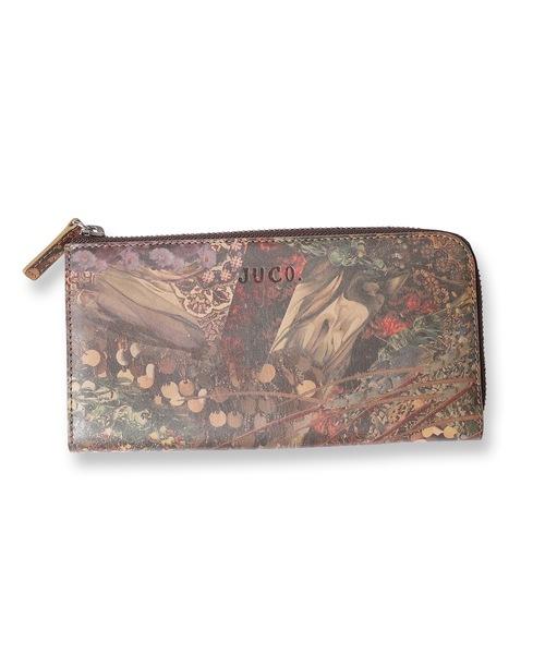 JUCO.(ジュコ)の「Print Long Wallet(財布)」|D