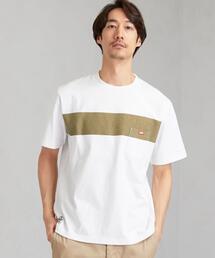別注[ チャムス ]SC CHUMS GLR ライン ポケット Tシャツ