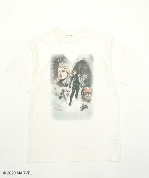 【Black Widow】VネックTシャツ