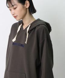【 MONT KEMMEL / モンケメル 】LOGO PRINT HOODY MKL-000-203011チャコールグレー