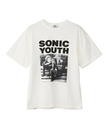 SONIC YOUTH/HERE?!WHERE?! Tシャツホワイト