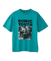 SONIC YOUTH/HERE?!WHERE?! Tシャツターコイズブルー
