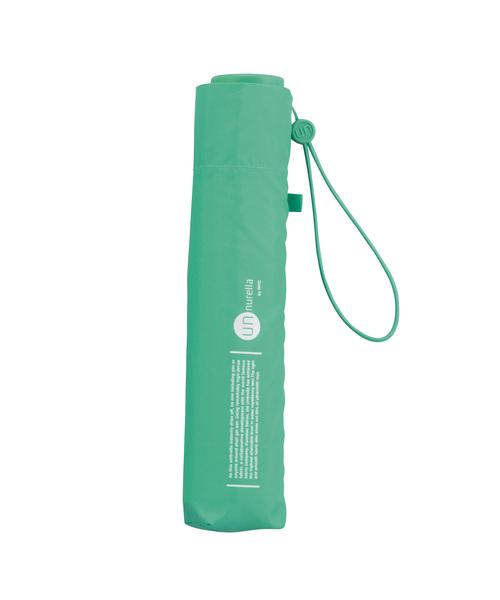 Wpc.(ダブルピーシー)の「「濡らさない傘」アンヌレラ unnurella mini(折りたたみ傘)」|グリーン