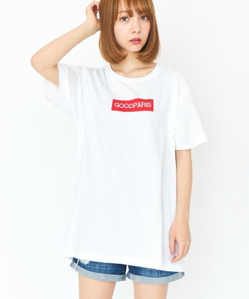 GOODPARIS グッドパリス BOX LOGO T 半袖ロゴTシャツ GDT-014