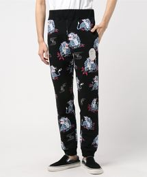 TIGER PATTERN SLIM SWEAT PANTS M(パンツ)