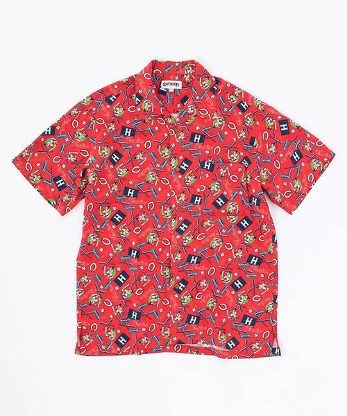 カープコラボアロハシャツ