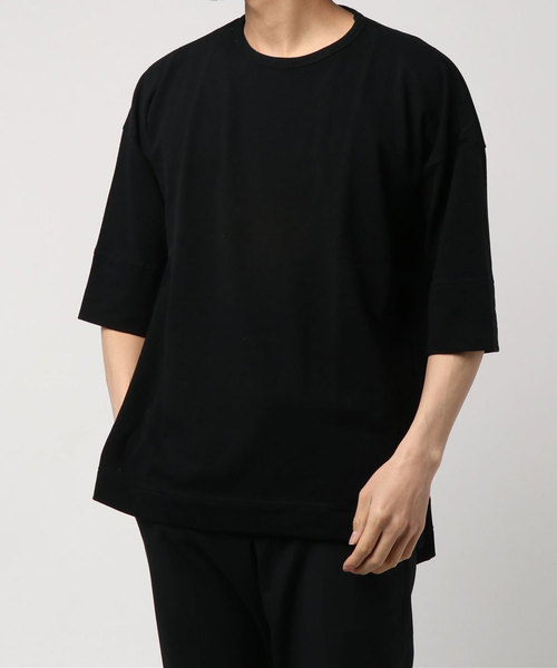 【ohta】 BIG T-shirt / charcoal , gree
