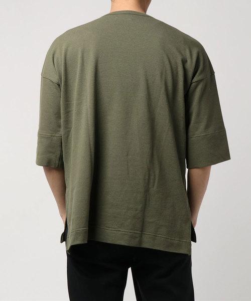 【ohta】 BIG T-shirt / charcoal , gree
