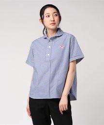 Danton(ダントン)の【DANTON】半袖プルオーバーワークシャツ TRD WOMEN(シャツ/ブラウス)
