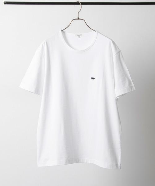 Scye(サイ)の「Scye×URBAN RESEARCH 別注LOGO SHORT-SLEEVE T-SHIRTS(Tシャツ/カットソー)」|ホワイト