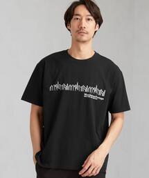 別注 マンハッタンポーテージ Manhattan Portage スカイラインロゴ Tシャツ