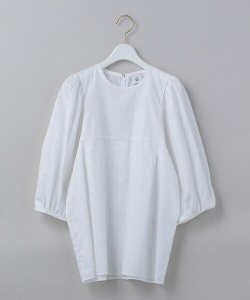 <6(ROKU)>VOLUME SHORT SLEEVE BLOUSE/ブラウス