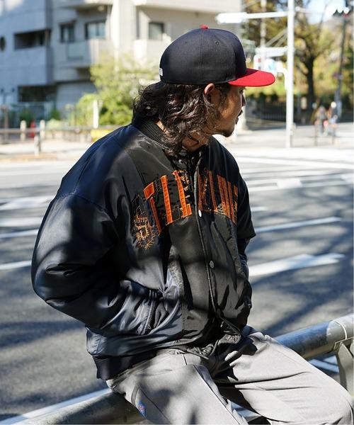 【SELF MADE BY GIANFRANCO VILLEGAS / セルフメイド バイ ジャンフランコ ヴィレガス】 DECONSTRUCTED BOMBER