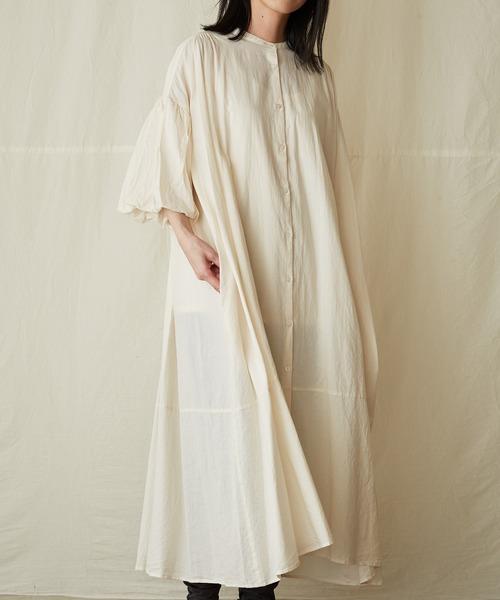 balloon-sleeve dress/バルーンスリーブドレス