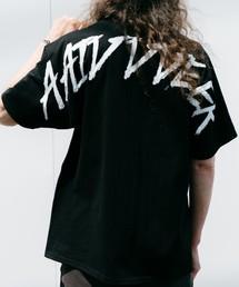 CASPER JOHN AIVER(キャスパージョンアイバー)のCASPER JOHN AIVER ハンドペイントビッグTシャツ(Tシャツ/カットソー)
