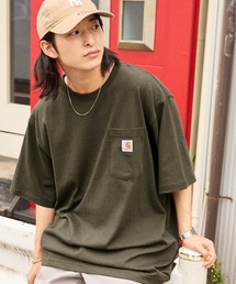 Carhartt(カーハート)のcarhartt/カーハート Workwear ビッグシルエット ポケット半袖 ロゴ Tシャツ(Tシャツ/カットソー)