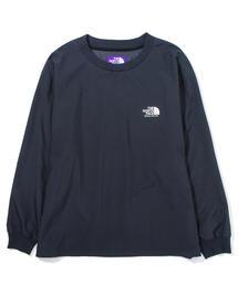 【別注】 <THE NORTH FACE PURPLE LABEL> L/S LOGO TEE/Tシャツ □□
