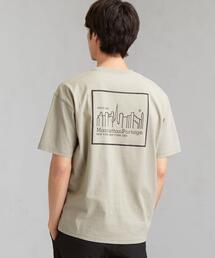別注 マンハッタンポーテージ Manhattan Portage リフレクタープリント Tシャツ ♰