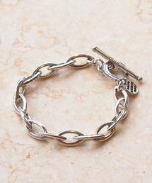 PHILIPPE AUDIBERT(フィリップオーディベール)オーバルチェーンブレスレット / bracelet Elton