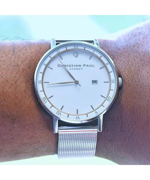 特価商品  【Christian Paul(クリスチャンポール)】アルファコレクションA004SVM 43mm(腕時計) Christian|Christian Paul(クリスチャンポール)のファッション通販, シントミチョウ:0c34bcc7 --- kredo24.ru