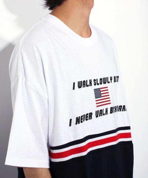 切替 ロゴ ビッグTシャツ
