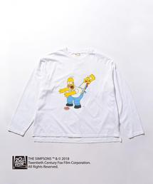 <YSTRDY'S TMRRW × The Simpsons> LSL BYSP/Tシャツ ◆