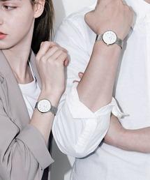 KLON(クローン)のKLON CONNECTION DARING PAIR -SILVER MESH- 33mm(腕時計)