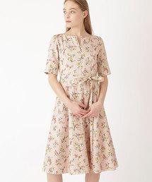 cd6e02e71babd JILLSTUART(Dress)(ドレス)の「◇エミーフラワープリントタックワンピース(