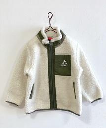 GERRY(ジェリー)の【GERRY】ボアフリーススタンドジャケット(80〜160cm)(ブルゾン)