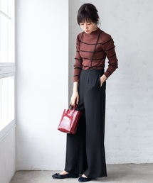 TIENS ecoute(ティアンエクート)の裾フレアーサロペット(サロペット/オーバーオール)