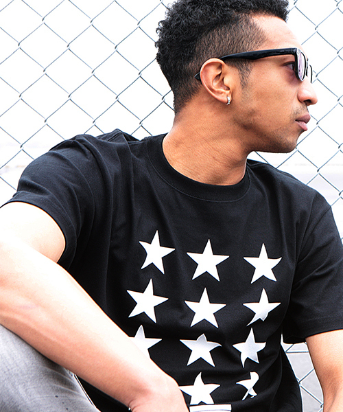 【LIBERTY CITY/リバティーシティ】 [THE STARS] Tシャツ