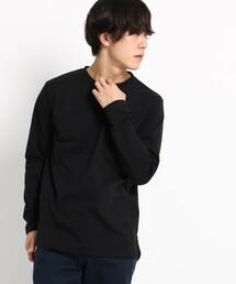 BASECONTROL(ベースコントロール)の長袖 Tシャツ クルーネック WEB限定(Tシャツ/カットソー)