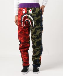 MIX CAMO SHARK CRAZY SLIM SWEAT PANTS M(パンツ)