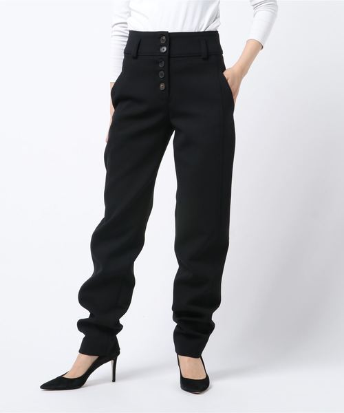 (お得な特別割引価格) TECHNICAL WOOL HIGH WAIST PANTS P711A, e-BRAND a9b7c84c