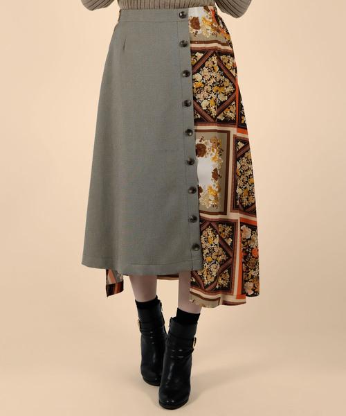 見事な創造力 【セール】ハンカチパッチワーク柄 up Luxe 配色フレアスカート(別注プリント)(スカート)|doll Doll/ up oops(ドールアップウップス)のファッション通販, ニットーリレー創業80年昆布茶屋:0a9d8550 --- skoda-tmn.ru
