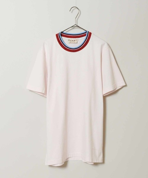 再再販! 【セール Private】【MARNI】クルーネックリブTシャツ(Tシャツ/カットソー)|MARNI(マルニ)のファッション通販, 塗料の専門店 ファインカラーズ:94b762af --- pyme.pe