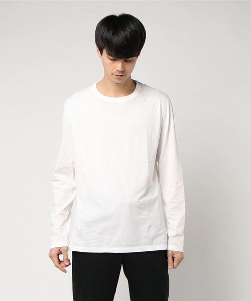 ESTNATION ピグメントバイオウォッシュ ロングスリーブTシャツ