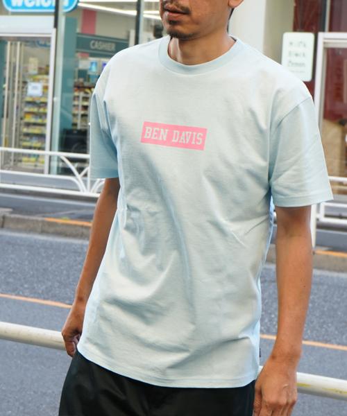 BENDAVIS LOG PRINT TEE/ベンデイビス ロゴプリント Tシャツ