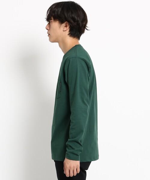 長袖 Tシャツ Vネック WEB限定