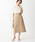 EMMEL REFINES(エメル リファインズ)の「SMF コットンツイル フロントチェーンスカート(スカート)」 ベージュ