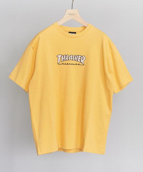 【別注】 <THRASHER> LOGO TEE/Tシャツ