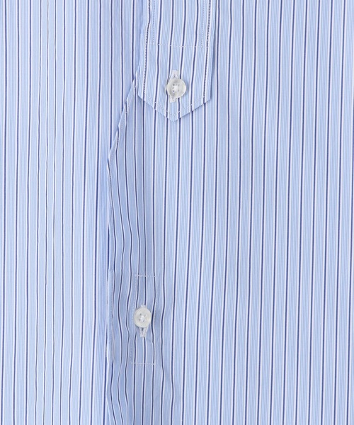 ESTNATION(エストネーション)の「ESTNATION / 'THOMAS MASON' ストライプ柄バンドカラーシャツ(シャツ/ブラウス)」|詳細画像