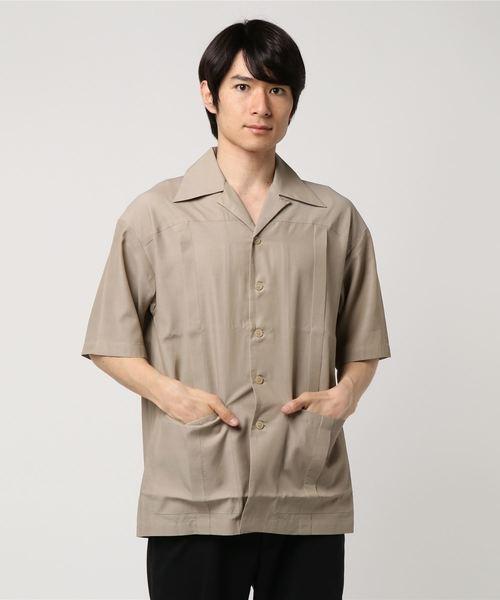【HAMNETT】 アーカイブオープンカラーシャツ / オープンカラーシャツ