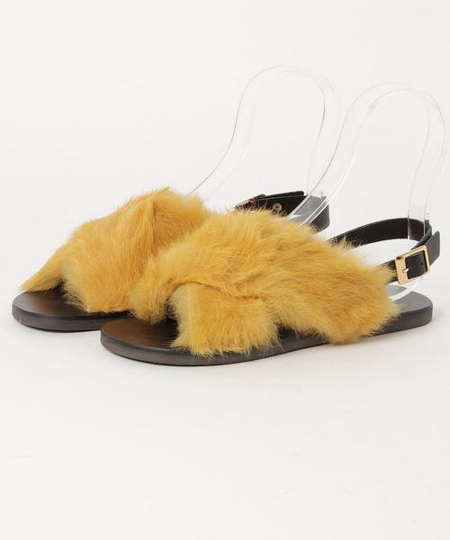 最適な材料 【セール】FAB/RabbFurCrossingSandal(サンダル)|ELENDEEK(エレンディーク)のファッション通販, 石川市:0772d64b --- superlite.com.vn