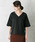 URBAN RESEARCH ROSSO WOMEN(アーバンリサーチ ロッソ)の「Vネックシャツブラウス(シャツ/ブラウス)」|詳細画像