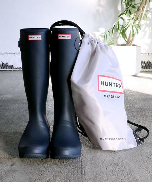 ∴【 HUNTER / ハンター 】ORIGINAL TOUR / オリジナル トール レインブーツ  WFT1026RMA HUT