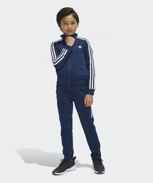 eec5488b675f1 adidas Sports(アディダス スポーツ)の「TIROジャージ上下セット (裾ジッパー)