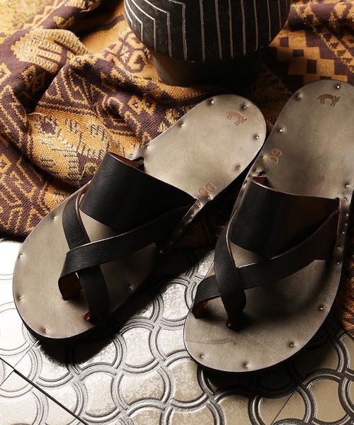 [定休日以外毎日出荷中] JUTTA sole/フランク NEUMANN/ユッタ ニューマン FRANK STORE with Birkenstock Birkenstock sole/フランク レザーサンダル(サンダル)|FREAK