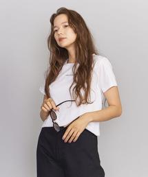 BY コットンスムース CHAT BLANC Tシャツ